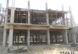 Bahria Town Karachi Hospital Under Construction