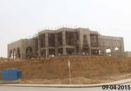 Bahria Town Karachi Jamia Masjid Work in Progress