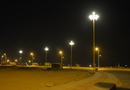 Bahria Town Karachi Trafalgar Square at Night