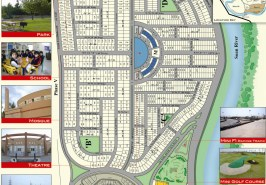 Bahria Town Phase 4 Rawalpindi Map