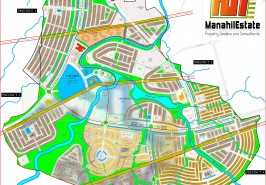 Bahria Town Phase 8 Extension Full Map