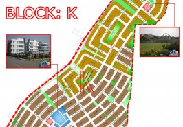 Bahria Town Phase 8 Sector K Map