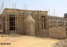 Grand Jamia Masjid work in Progress in Bahria Town Karachi