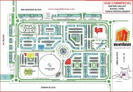 Hub Commercial Safari Valley Bahria Town Rawalpindi