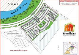 Midway Commercial Bahria Town Rawalpindi Map