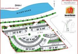 Mini Commercial Bahria Town Rawalpindi Map