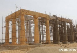 Monuments Under construction at Bahria Town Karachi