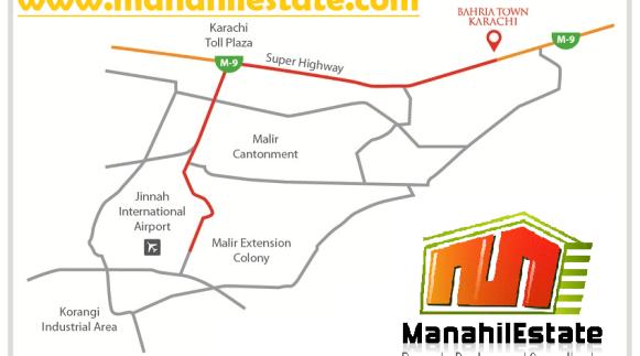 bahria-town-karachi-location