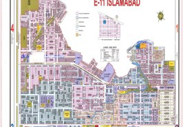 Sector E-11 Islamabad Map