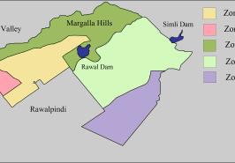 Islamabad Zones Map