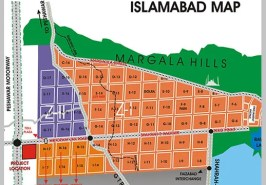 Islamabad Sectors Map