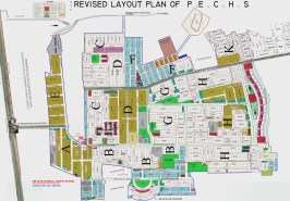 PECHS Islamabad Old Map