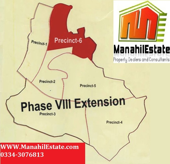 Phase 8 Extension Precincts