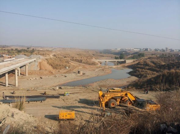 DHA-Valley-Underconstruction-Bridge