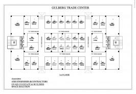 First Floor Plan Gulberg Trade Center