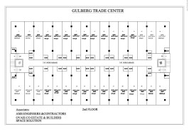 Second Floor Plan Gulberg Trade Center