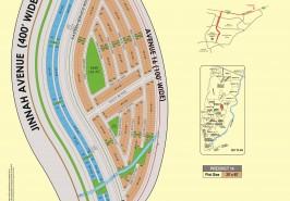 Bahria Town Karachi Precinct 14 Map