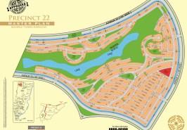 Bahria Town Karachi Precinct 22 Map