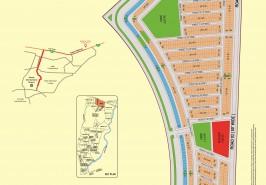 Bahria Town Karachi Precinct 24 Map