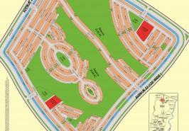 Bahria Town Karachi Precinct 25 Map