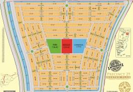 Bahria Town Karachi Precinct 29 Map