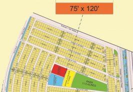 Bahria Sports City Karachi Precinct 38 Map