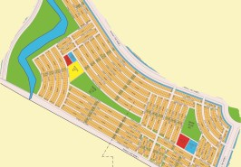 Bahria Sports City Karachi Precinct 43 Map