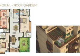 Galleria Nobal Roof Garden Layout Plan