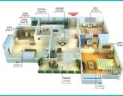 Type A7 3 Bedrooms Plan