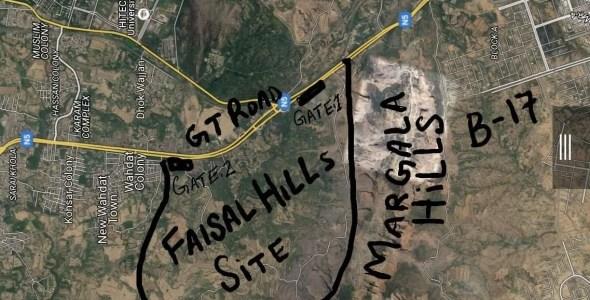 faisal hills site location