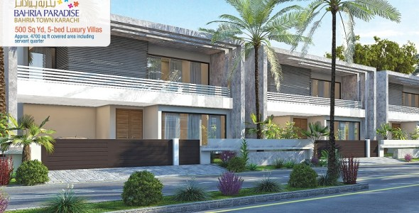 Bahria Paradise Villas Front Elevation