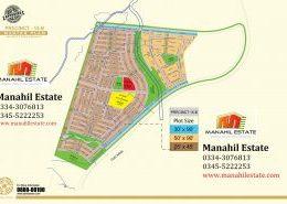 Bahria Town Karachi Precinct 15B Map