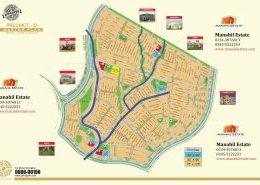 Bahria Town Karachi Precinct 33 Map