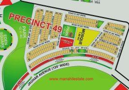 Bahria Paradise Karachi Precinct 49 Map