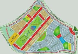 Bahria Paradise Karachi Precinct 54 Map