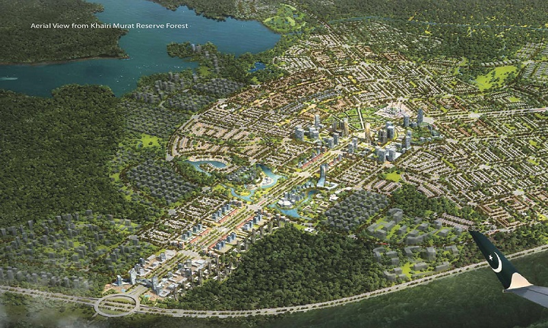 Capital Smart City aerial view
