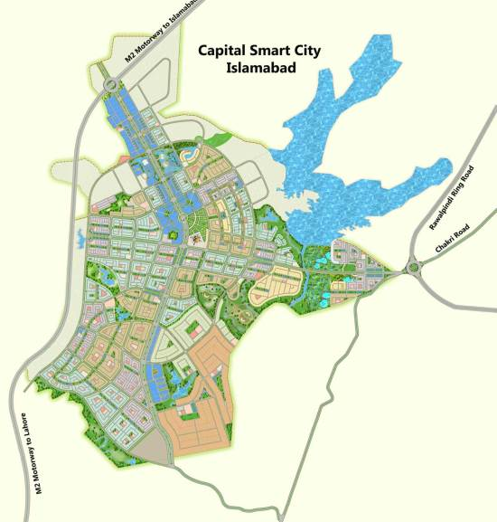 capital smart city islamabad master plan