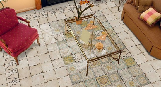 Beautiful Floor Design Vintage
