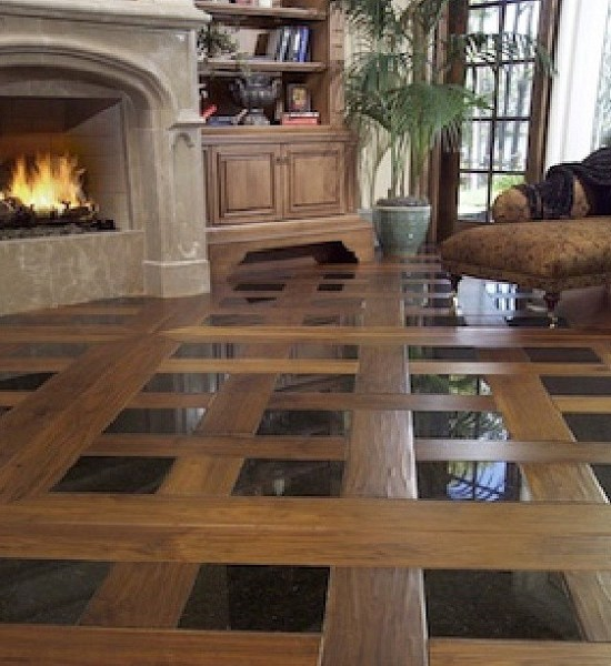 Beautiful Floor Design Wood