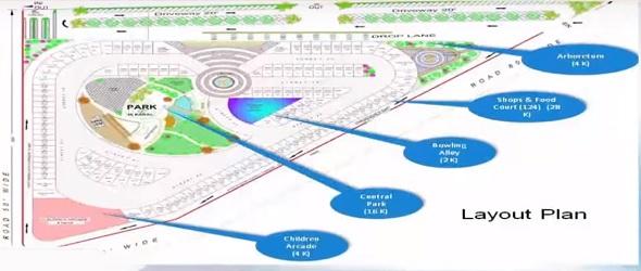 Arena Walk & Shop Master Plan Lahore