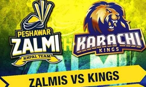 Peshawr Zalmi and Karachi Kings