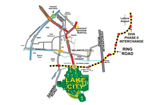 lake-city-holdings-site-map