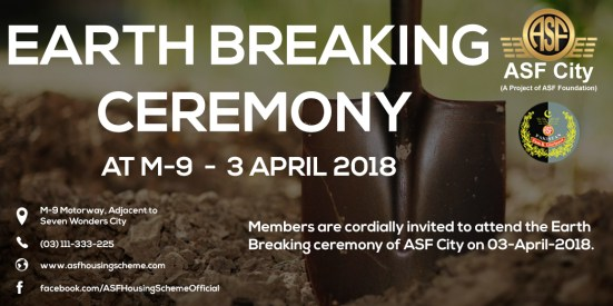 ASF City Earth Breaking Ceremony
