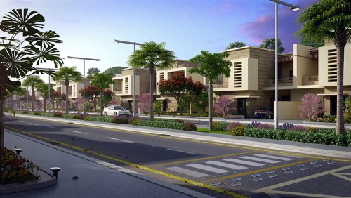 275 SQY Single Storey Fazaia Bungalows