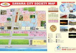 Savaira City Gwadar Map