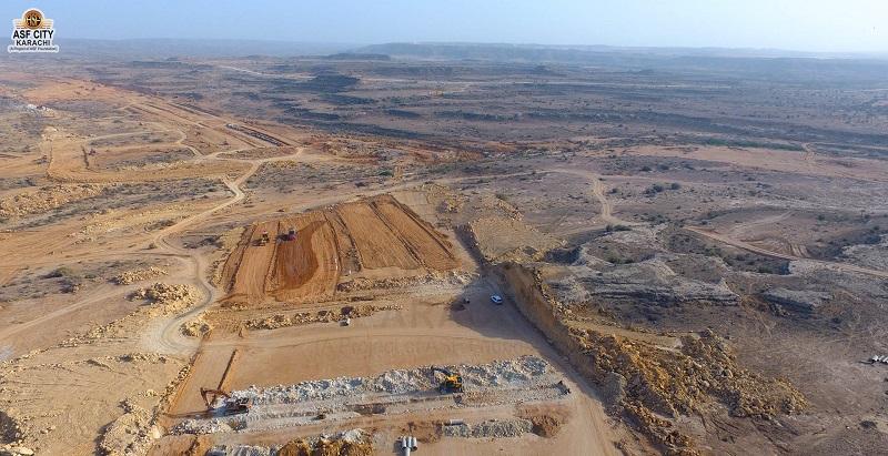 ASF City Karachi Development Pictures 3