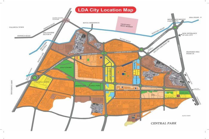 LDA City Map