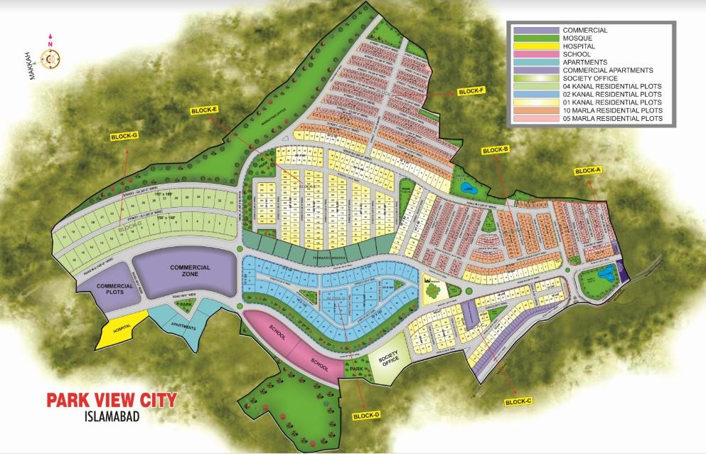 Park View City Map