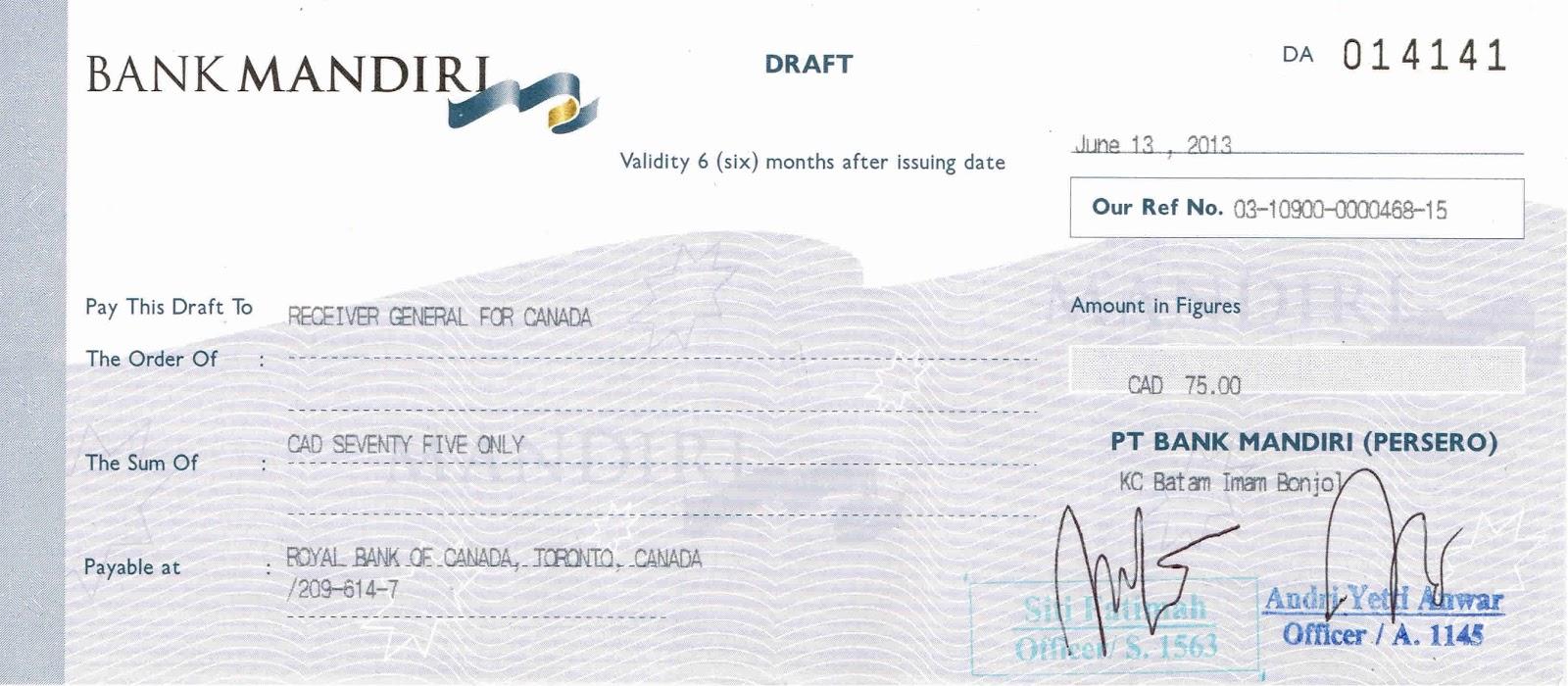 Jasa Bank Bank Draft Cek Perjalanan Dan Sdb Manajemenbank Com
