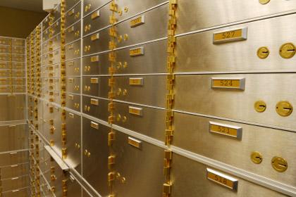 gambar jasa bank safe deposit box atau SDB